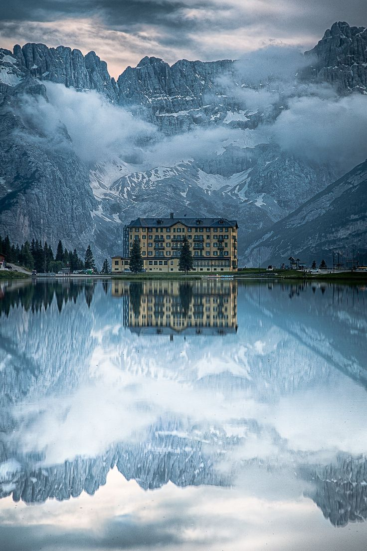 Lake Misurina, Auron